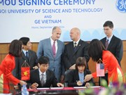 GE et l'Université des sciences et technologies de Hanoi signent un accord