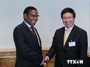 Activités du vice-PM Pham Binh Minh à l'ONU