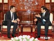 Le président du Comité national de sécurité de Biélorussie au Vietnam