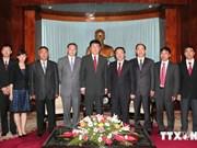 Une délégation du Parti communiste chinois en visite au Vietnam