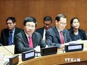 Activités du vice-PM Pham Binh Minh en marge de l'AG de l'ONU