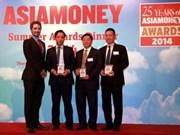 La BIDV distinguée par Asiamoney pour la 5e fois