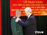 D'anciens dirigeants du Parti et du gouvernement à l'honneur
