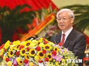 Le secrétaire général du PCV Nguyen Phu Trong part pour la R. de Corée