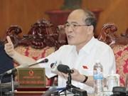 Débat sur la restructuration économique et l'organisation du Front de Patrie