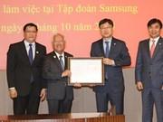 Le Vietnam fait bon accueil aux investisseurs sud-coréens