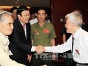 Le chef de l'Etat rencontre des anciens prisonniers révolutionnaires
