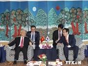 Nguyen Phu Trong visite la ville portuaire Pusan