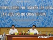 PM : parfaire les institutions de l'économie de marché