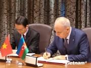 La VNA et l'azerbaïdjanais AzerTAc main dans la main