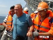 Victime d'une crise cardiaque, un marin bulgare secouru