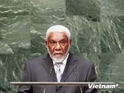 Le Premier ministre du Vanuatu arrive à Hanoi