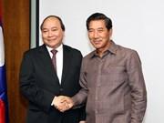 Le Vietnam s'engage à soutenir le développement socioéconomique du Laos