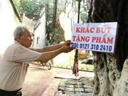 Le dernier graveur de stylo de Hanoi