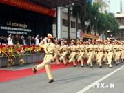 Rentrée scolaire de l'Académie de la Police populaire