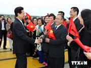 Le Premier ministre Nguyen Tan Dung débute sa visite officielle en Belgique