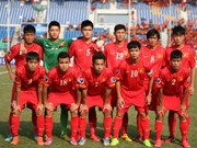 Football : le Vietnam quitte le tournoi U19 d'Asie