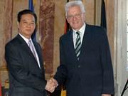 Le PM Nguyên Tân Dung entame sa visite en Allemagne