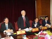 """Nguyen Phu Trong : """"la culture, une mesure du progrès national"""""""