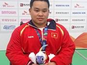 Jeux d'Asie handisport : le Vietnam remporte sa quatrième médaille d'or