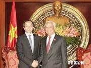 Un vice-président de l'AN reçoit une délégation chinoise