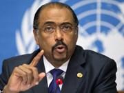 La vice-présidente reçoit le chef adjoint de l'ONU