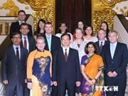 Le PM reçoit des représentants des agences onusiennes