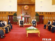 Médias : le vice-PM Nguyen Xuan Phuc reçoit des dirigeants de la KPL