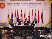 Le Vietnam assiste au Forum de l'ASEAN sur les entreprises sociales