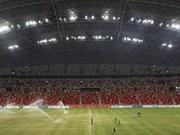 Football : Singapour est prêt pour l'AFF Suzuki Cup