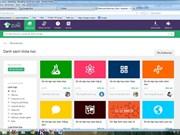 Un site de formation en ligne ouvert au Vietnam