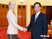 Le PM Nguyen Tan Dung reçoit le nouvel ambassadeur norvégien