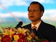 Ouverture du Forum de Coopération économique du Delta du Mékong 2014 à Soc Trang