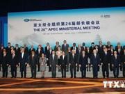 L'APEC vise à une zone de libre-échange Asie-Pacifique
