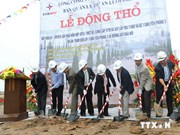 Mise en chantier de la station de transformation électrique de 110 kV Yen Phong 3