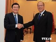 APEC : le président Truong Tan Sang rencontre son homologue philippin