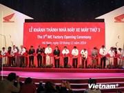 Honda Vietnam inaugure sa 3e usine de motos à Ha Nam