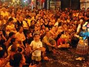 Musique de rue dans le Vieux quartier de Hanoi