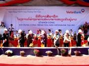 VietinBank lance le chantier du bâtiment de sa filiale à Vientiane