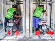 HCM-Ville : le lavage automatique, nouveau service, nouveau marché