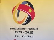 Hanoi : un toast en l'honneur des 40 ans des relations diplomatiques Vietnam-Allemagne