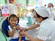 Vaccination contre la rougeole et la rubéole à Bach Long Vi, Nam Dinh et Dak Nong