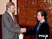 Le président de Smile Operation en visite au Vietnam