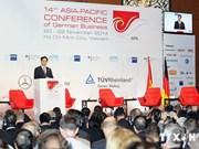 Le PM assiste à la Conférence Asie-Pacifique des entreprises allemandes