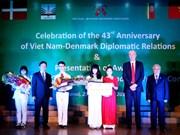 Célébration des 43 ans de relations diplomatiques Vietnam-Danemark