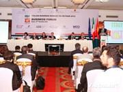 Forum d'affaires Italie-Vietnam à Hanoi