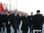 Activités du secrétaire général Nguyen Phu Trong en Russie