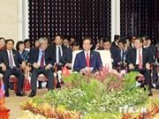 Le PM vietnamien au 8e sommet du Triangle CLV
