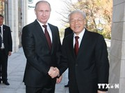 Le Secrétaire général du PCV achève sa visite en Russie