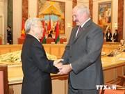 La Biélorussie accorde la priorité au développement de ses relations avec le Vietnam